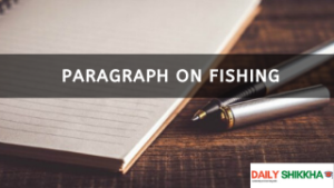 paragraph on Fishing
