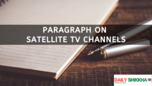 paragraph on Satellite TV Channels