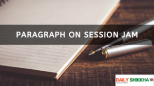 paragraph on Session Jam